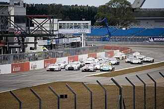 2010 RAC Tourist Trophy - The start of the Qualifying Race