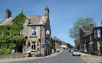 Horsforth - Image: Town Street Horsforth