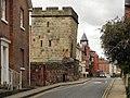 Town Walls (street) in Shrewsbury, Shropshire.jpg