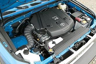 Toyota GR engine - Image: Toyota 1GR FE engine 001