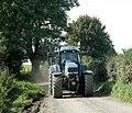 Tractor driven on Yellingmill Lane - geograph.org.uk - 1492998.jpg