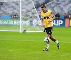 Training Germany national team before the match against Brazil at the FIFA World Cup 2014-07-07 (7).jpg