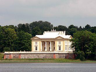 Tyszkiewicz family - Image: Trakai Tyszkiewicz palace