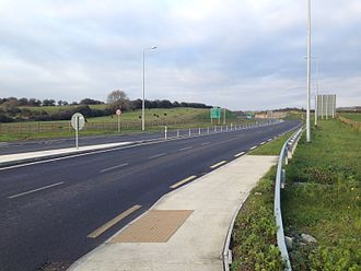 National secondary road - Image: Tralee Bypass
