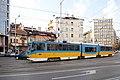 Tram in Sofia mear Macedonia place 2012 PD 016.jpg