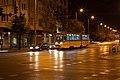 Tram in Sofia near Russian monument 090.jpg