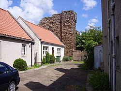 The remains of Tranent Tower