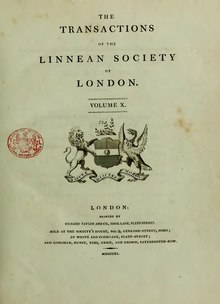 Transactions of the Linnean Society of London, Volume 10.djvu