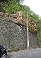 Tree stump, Back Lane, Ripponden. Soyland - geograph.org.uk - 224604.jpg