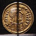 Tremisse a nome di maurizio tiberio, ticinum-pavia 600-650 ca. 01.jpg