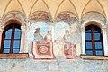 Trento, palazzo geremia, con affreschi di scuola veronese o vicentina del 1490-1510 ca. 05.jpg