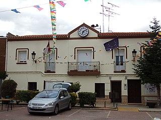 Tresjuncos Place in Castile-La Mancha, Spain