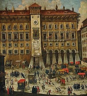 Carlo Coppola - Tribunal della Vicaria at Castel Capuana (attributed to Coppola