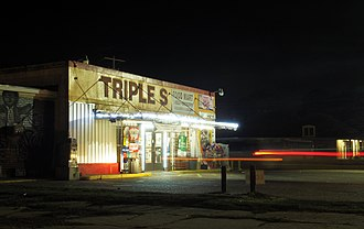 Shooting of Alton Sterling - The Triple S Food Market in Baton Rouge, where Sterling was shot by the Baton Rouge Police