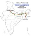 Tripura Sundari Express (Agartala - Anand Vihar) route map.png