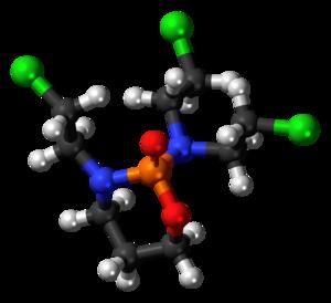 Trofosfamide - Image: Trofosfamide 3D balls