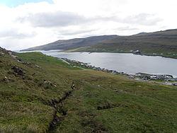 Trongisvagsfjordur and Tvoroyri Faroe Islands.JPG