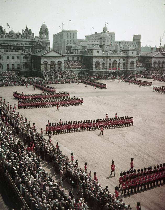 Trooping the Colour, 1956