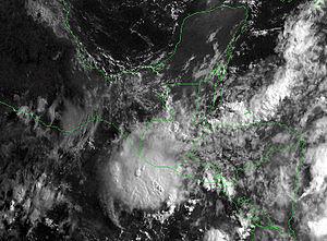 1997 Pacific hurricane season - Image: Tropical Storm Andres 1997