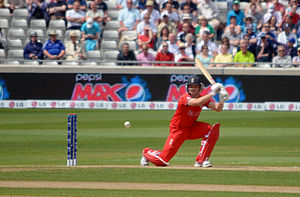 Jonathan Trott - Trott batting during the 2013 Champions Trophy