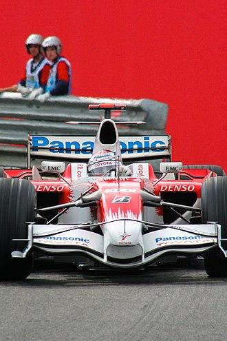 2008 Brazilian Grand Prix - Jarno Trulli qualified in second for Toyota