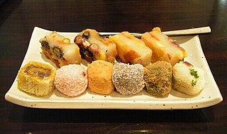Tteok Rice cakes in Korean cuisine