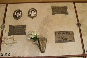 Tanguito - Tanguito is buried at General San Martín Partido cemetery of Greater Buenos Aires.