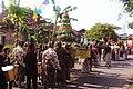 Tumpeng raksasa hasil desa Merti Desa, Sleman Yogyakarta 11292015.jpg