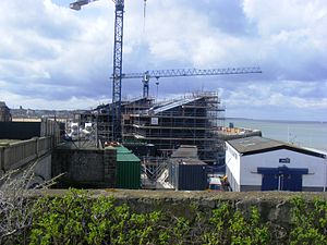 Thanet - It is hoped that the new Turner Contemporary gallery in Margate will encourage tourism to the area.