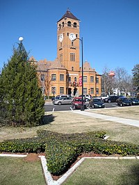 City Center in Downtown Tuskegee