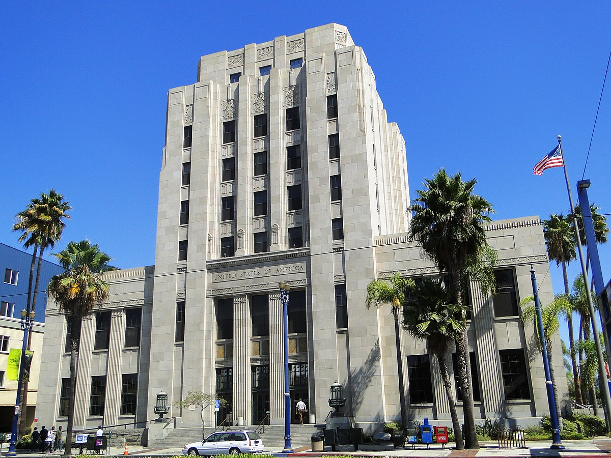 Long beach main post office wikipedia for Main architectural styles