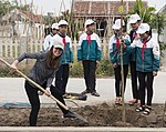 USAID supports tree planting in Nam Dinh Province (33162444962).jpg