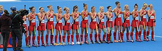 United States women's national field hockey team - The team in 2016