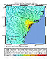 USGS Shakemap - 1989 Newcastle earthquake.jpg
