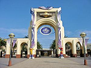 Universal Studios Japan - Universal Studios Japan entrance