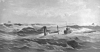 USS Manhattan (1863) - Image: USS Manhattan NH60256