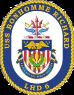 USS Bonhomme Richard COA