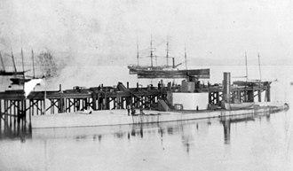 USS Camanche (1864) - USS Camanche c. 1866.