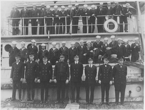 USS Conestoga (AT-54) - Image: USS Conestoga's ship's company, 1921
