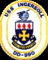 USS Ingersoll (DD-990) crest 1978.png