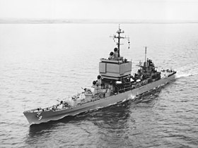 USS Long Beach (CGN-9) i april 1963