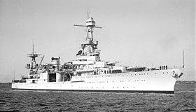 USS Louisville (CA-28) visiting Australia, 2 February 1938