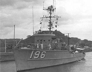 USS <i>Meadowlark</i> (AMS-196) Falcon-class coastal minesweeper