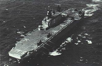 USS Peleliu - Peleliu off Australia in 1982.