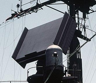 AN/SPS-52 - AN/SPS-52 on USS Ramsey (FFG-2)
