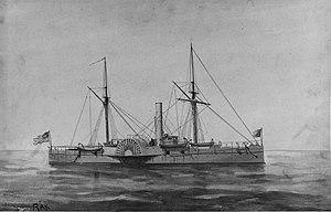 USS Tallapoosa (1863) - Image: USS Tallapoosa revised