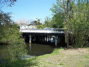 Estero River (Florida) - Bridge over the Estero River