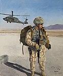 US Coast Guard Art Program 2015 Collection, 'Waiting for a Ride' 150209-G-ZZ999-021.jpg