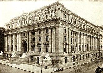 Alexander Hamilton U.S. Custom House - The Customs House in 1912
