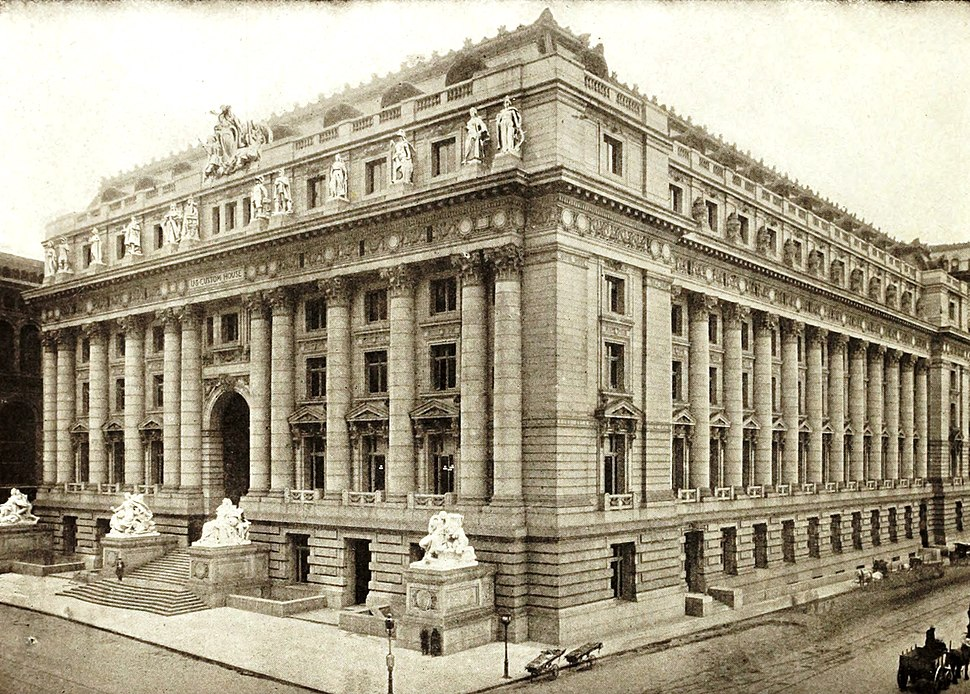 US Customs House New York of to-day. (1912) (14782617492)